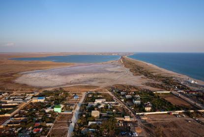 Вид на пляжи Поповки