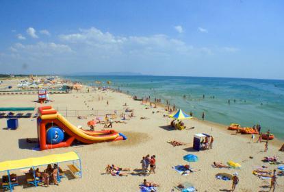 Пляжи в поселке Поповка
