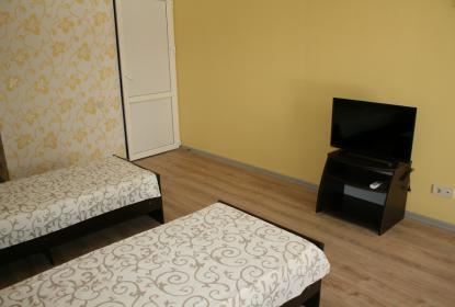 Стандартные две кровати в каждом номере