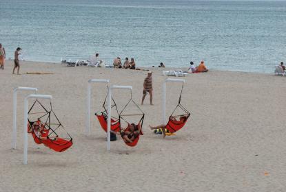 Развлечение на пляже
